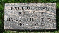 Ronello B Lewis