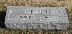 Mary D. <I>Byrd</I> Creech