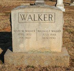 Mary <I>Mitchell</I> Walker