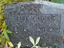 Mark W Koenig