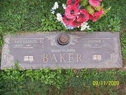 Jennie A. <I>Sankey</I> Baker