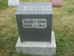 Mary Ann <I>Conley</I> Blackburn