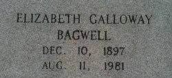 Elizabeth <I>Galloway</I> Bagwell