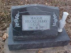Maggie <I>Huckelberry</I> Cox
