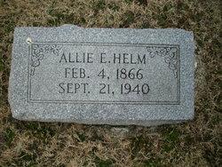 Allie E Helm