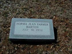Norma Jean <I>Farmer</I> Barton