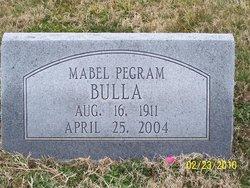 Mabel Lorene <I>Pegram</I> Bulla