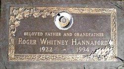 Roger Whitney Hannaford