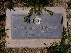 Willie <I>Shown</I> Rogers