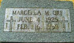 Marcella M Orf