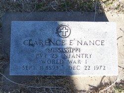 Clarence E Nance