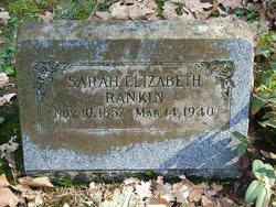 "Sarah Elizabeth ""Bessie"" <I>Cheshire</I> Rankin"