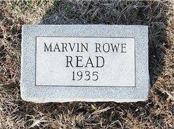Marvin Rowe Read