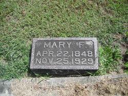 Mary Frances <I>Curry</I> Hopgood