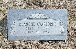Blanche Beatrice <I>Galbraith</I> Cvarfordt