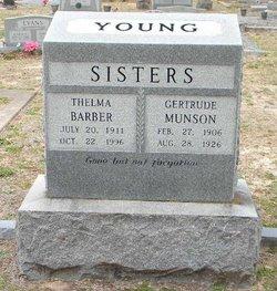 Gertrude <I>Young</I> Munson