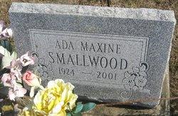 Ada Maxine <I>Maudlin</I> Smallwood