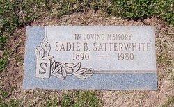 Sadie B. Satterwhite