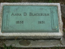 Anna Dinah <I>Furnas</I> Blackburn