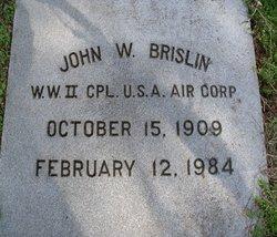 John W Brislin