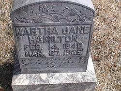 Martha Jane <I>Cooner</I> Hamilton