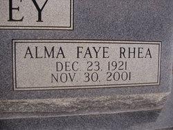 Alma Faye <I>Rhea</I> Cearley