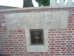 H. A. C. Cemetery, Ecoust-St. Mein