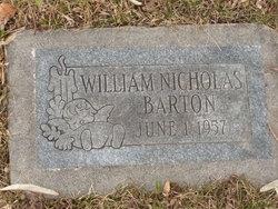 William Nicholas Barton