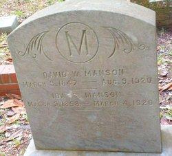 David Whitehurst Manson