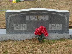 Mattie A <I>Irwin</I> Boles