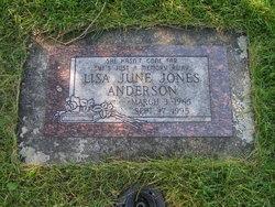 Lisa June <I>Jones</I> Anderson
