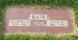 Anna A <I>Porter</I> Bair