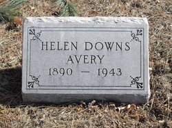 Helen M <I>Downs</I> Avery