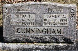 Rhoda Frances <I>Blake</I> Cunningham