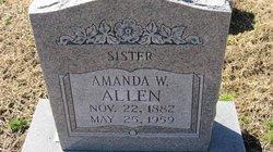 Amanda Lee <I>Watkins</I> Allen