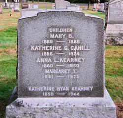 Katherine G <I>Kearney</I> Cahill