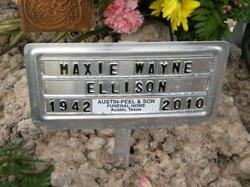 Maxie Wayne Ellison