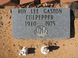 Roy Lee Gaston Culpepper