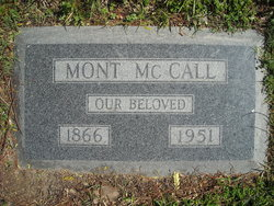"""Montraville """"Mont"""" McCall"""