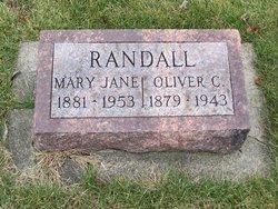 Mary Jane <I>Thompson</I> Randall