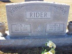 Geneva E <I>Abell</I> Rider