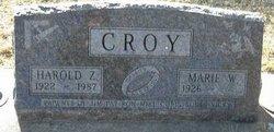 Harold Z Croy