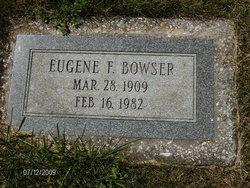 Eugene Franklin Bowser
