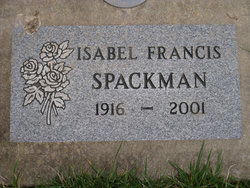 Isabel Francis Spackman