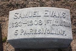 Lieut Samuel Evans