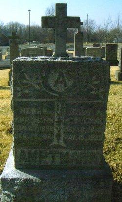 "Maria A. ""Mary"" <I>Sachs</I> Amptmann"