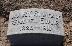 Mrs Mary <I>Shoch</I> Evans