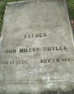 John Miller Butler