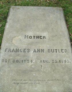 Frances Ann <I>Sellers</I> Butler