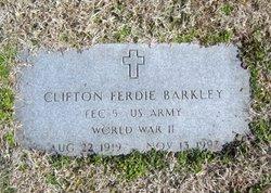 Clifton Ferdie Barkley